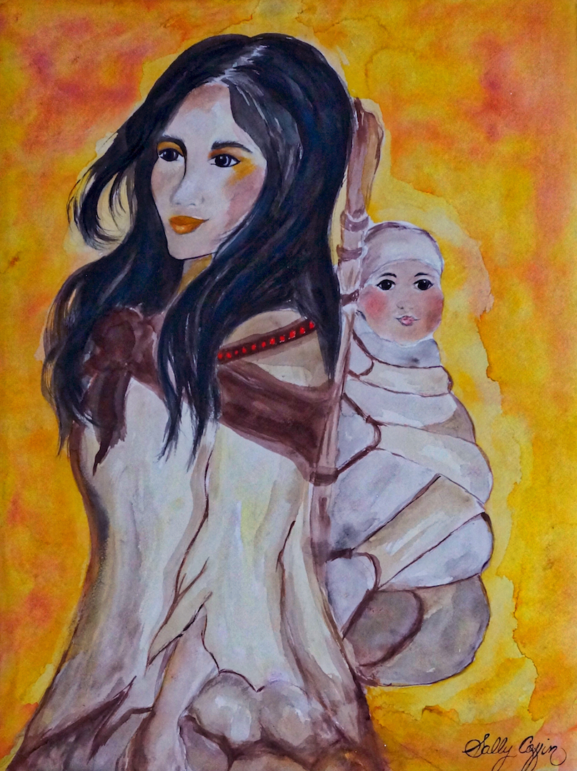 The Art Coffin - Wamponoag Indian Mother